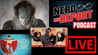 The Nun / Mayans MC / Weekend Box office / IT Chapter 2 / Nacho Libre 2 / Marvel Parks - Nerd Report