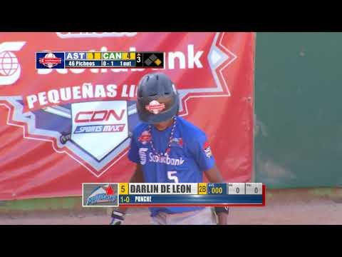Juego final Clásico Scotiabank de Pequeñas Ligas 2018 (Astros VS Cangrejeros) 2/3