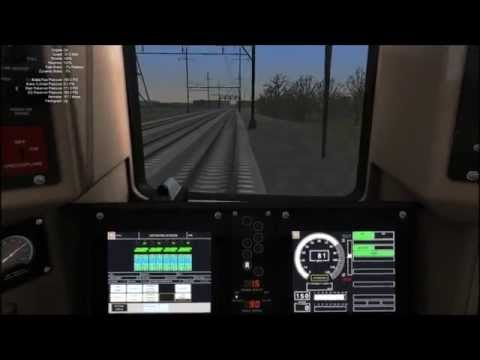 Train Simulator 2014 HD: Metro-North M8 EMU Operates New Jersey Transit Trenton Line Train to NYP