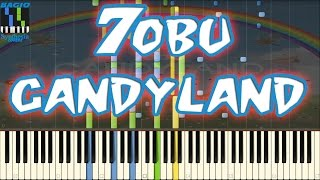 Tobu Candyland Piano Cover On Synthesia + Midi File Free Download