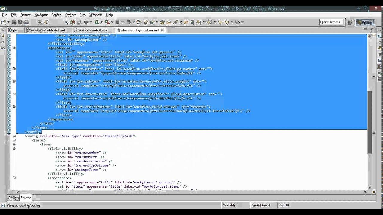 Alfresco Workflow with Activiti Part 2