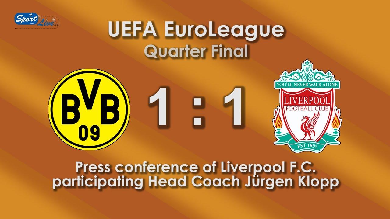 Borussia Dortmund - Liverpool F.C. - press conference by head coach Jürgen Klopp