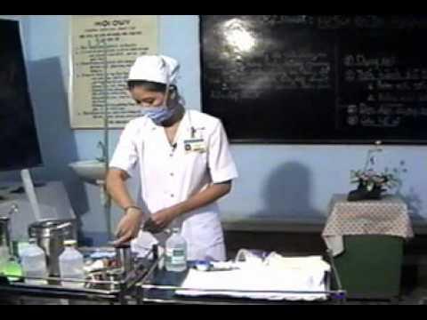 16.Săn sóc Bệnh nhân Tai biến - Bơm Rửa Bàng Quan