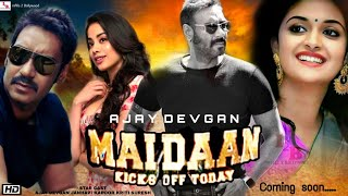 Cover images Maidaan (मैदान) #Ajay Devgan | New Latest Bollywood Upcoming Movie 2020 Shooting & Star Cast Updates