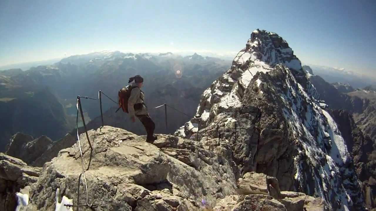 Klettersteig Watzmann : Bergsteigen deluxe die watzmann Überschreitung
