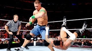 CM Punk vs. John Cena  WWE Championship Match: Raw, July 23, 2012
