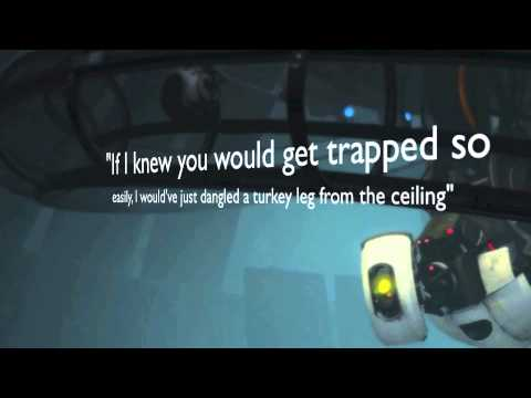 Glados Short Tribute Quotes Youtube