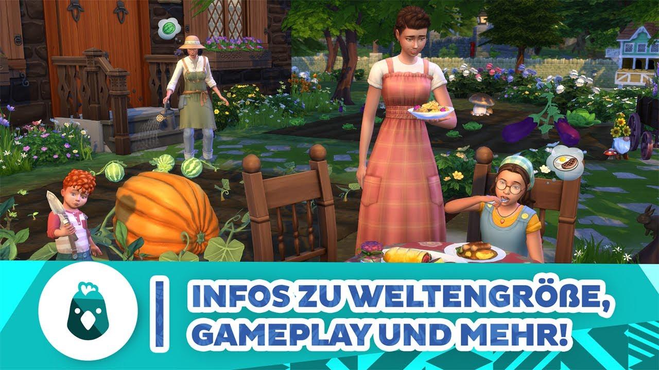 Landhausleben-Infos zu Weltengröße, Gameplay & mehr! | Short-News | sims-blog.de