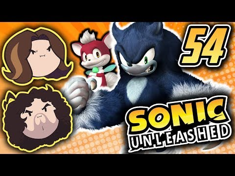 Sonic Unleashed: Big Kaiju Fight - PART 54 - Game Grumps