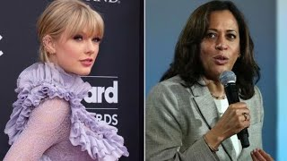 Taylor Swift fans are upset with presidential candidate Kamala Harris