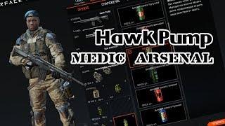 Hawk Pump /Арсенал медика / Warface