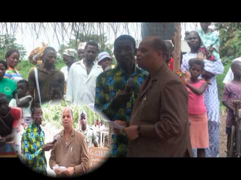 Association Ippa :  inauguration du moulin n° 1 à Esse-Zogbedgi au togo