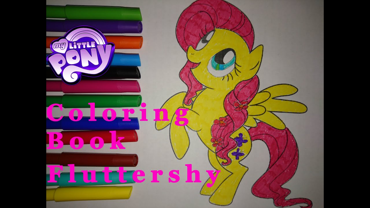 my little pony coloring book fluttershy mlp coloring pages for