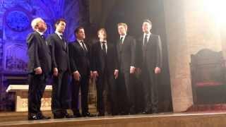 King's Singers - Gaudete - Live in Atri (Te) Italy