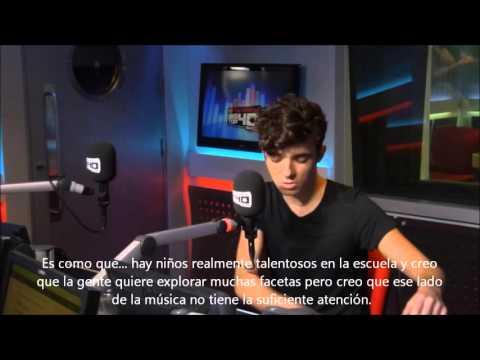 Nathan Sykes en Vodafone Big Top 40 Web Chat. Parte 2 (Sub. Español)