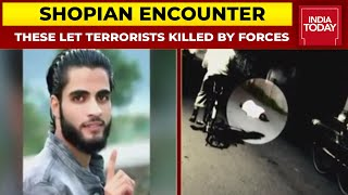 Encounter Breaks In Jammu And Kashmir's Shopian, 3 LeT Terrorists Killed By Security Forces