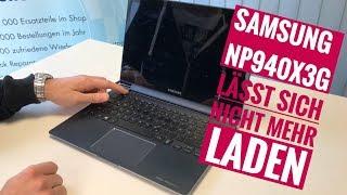 Samsung Ultrabook NP940X3G /NP940X3C lässt sich nicht mehr laden