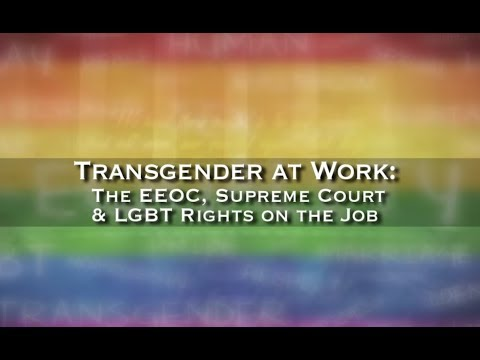 "2016 EMMY AWARD: ""Transgender at Work: LGBT Rights on the Job"" - Mid-Atlantic Chapter"