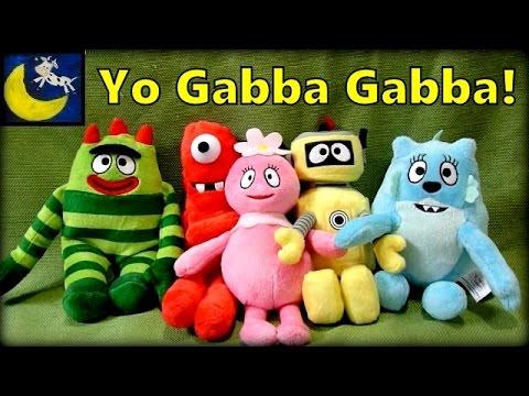 Yo Gabba Gabba Toys! Talking Brobee, Muno, Plex, Foofa and Toodee Plush!