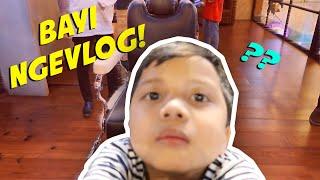 LUCU BANGET PARAH! FREAKIN' CUTE!! 6 y.o. Baby Vlogging! BOCAH 6 TAHUN NGEVLOG SENDIRI!