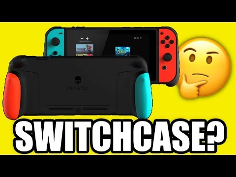 SwitchCase - Quick Look - Best Nintendo Switch Case for Handheld play?