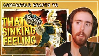 """Asmongold Reacts to """"Why Battle for Azeroth FEELS Worse Than Legion For Many Players"""" by Bellular"""