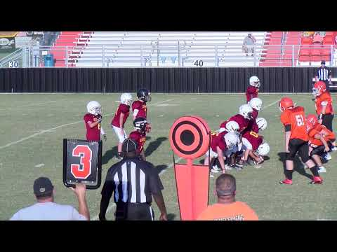 Escambia Academy PeeWee vs.Clarke Prep School 9/17/18