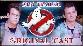 Ghostbusters 2016 Recut - Original Cast Trailer