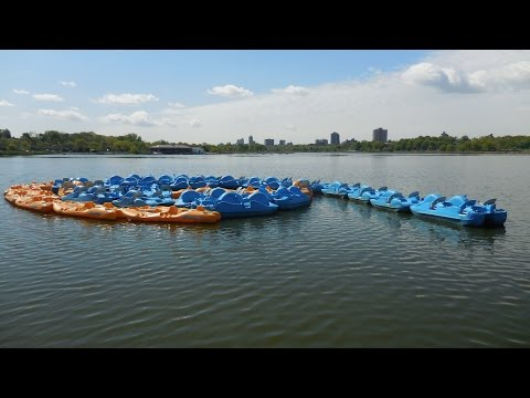 10000 Steps Warrior - A scenic walk around Meadow Lake in Flushing Meadows Corona Park, Queens NY