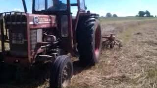 MF 175 raking