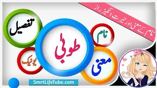 Tooba Name Meaning In Urdu (Girl Name طوبیٰ)