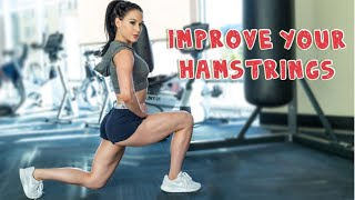 HAMSTRING BUILDING   tips & exercises