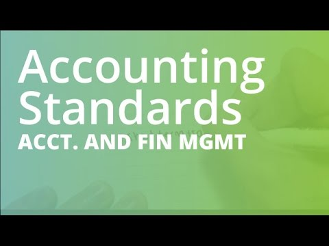 Accounting Standards Full | Accounting and Financial Management (ACCT101)