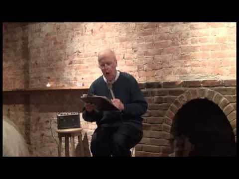 SATURN SERIES POETRY: Peter Blaxill reading on April 21, 201