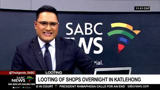 SAPS cautions over fake news around looting incidents