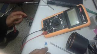 tester un condensateur avec un multimètre
