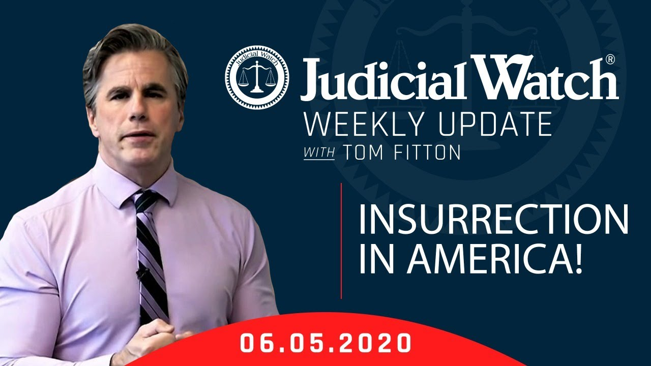 INSURRECTION in America! Important Clinton Email Update, Tom Fitton Testifies to Congress & MORE