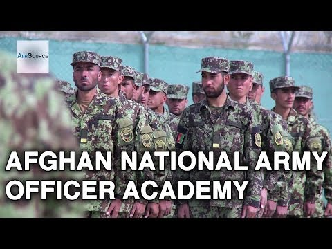 Afghan National Army Officer Academy In Kabul