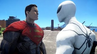 SPIDERMAN VS SUPERMAN - FUTURE FOUNDATION (MOD) GTA 4