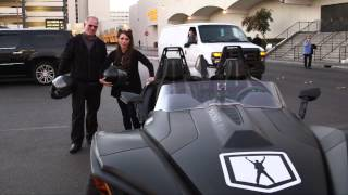 CES 2015: Zipping Around Las Vegas In The 3-Wheeled Polaris Slingshot