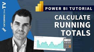 Calculating Running Totals in Power BI Using DAX