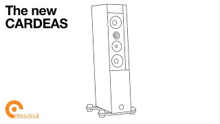 Announcing the new Audio Physic CARDEAS (spiderless) loudspeakers