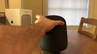 Apple HomePod - unboxing, setup, and test.