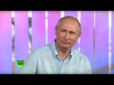 Путин на молодежном форуме «Таврида» в Крыму