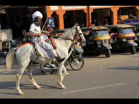 INDIA - JAIPUR (PART 1) - SOUNDS OF STREET LIFE