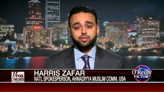 FoxNews: Bill O'Reilly with Ahmadiyya rep Harris Zafar on The truth about fighting the Jihad