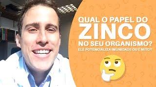 vuclip Qual o papel do ZINCO no seu organismo? Ele potencializa Imunidade ou é mito?   Dr. Juliano Pimentel
