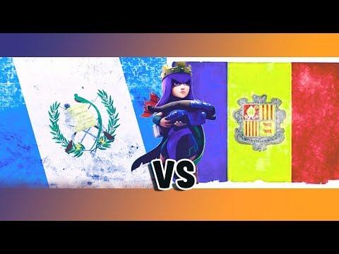 GUATEMALA VS ANDORRA CAMINO A LA CWC - GUERRA AMISTOSA- CLASH OF CLANS
