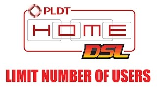 How to Limit device/user can access to PLDT Home DSL WiFi/Internet