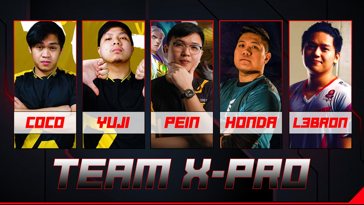 TEAM X-PRO IS THE NEW AETHER 2.0? | COCO, YUJI, PEIN, L3BRON AND HONDA | MLBB